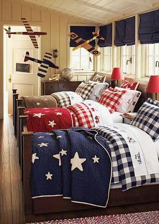 dziecięca sypialnia - dekoracja okien