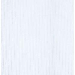Firana w kolorze białym z pasami